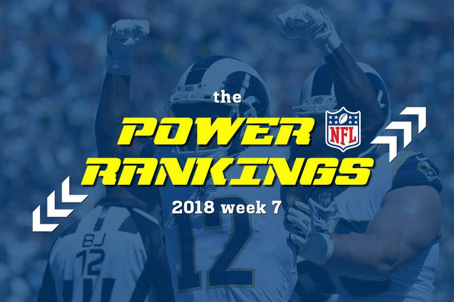 NFL 2018 power rankings 7