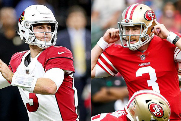 Cardinals vs 49ers, ovvero Josh Rosen vs CJ Beathard