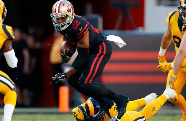 SF 49ers vs LA Rams color rush