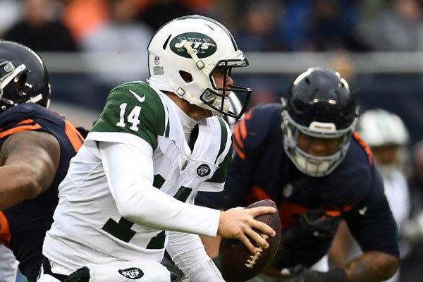 Sam Darnold Jets vs Bears 2018