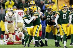 festa Packers disperazione 49ers 2018