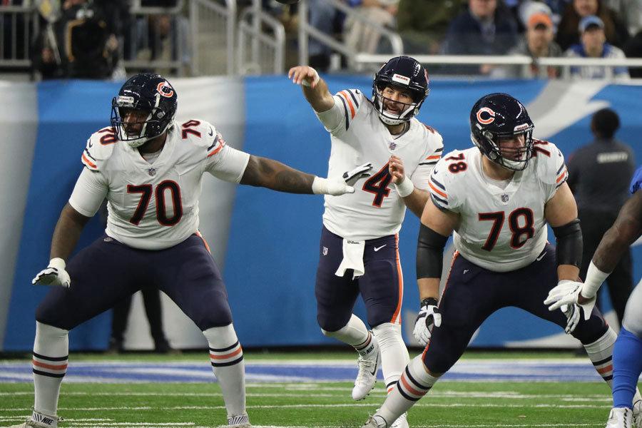 Chase Daniels Bears vs Lions 2018