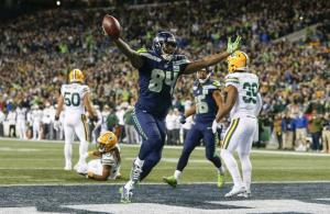 Dickson Seattle vs Green Bay 2018