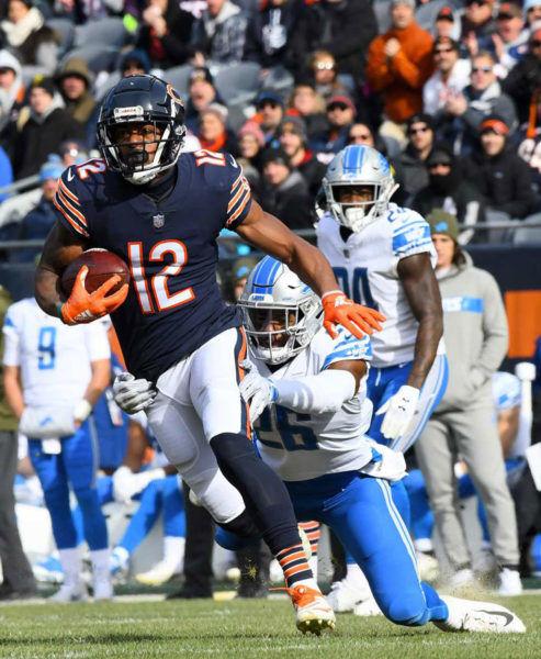 Robinson Bears 2018 vs Lions