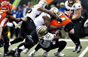 Saints travolgono i Bengals NFL 2018