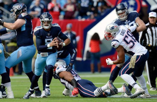 Mariota e i Titans abbattono i Patriots