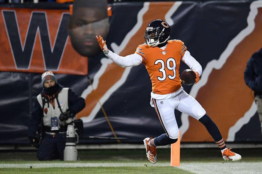 Eddie Jackson Bears 2018
