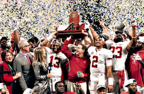 Alabama Crimson Tide SEC Champions 2018