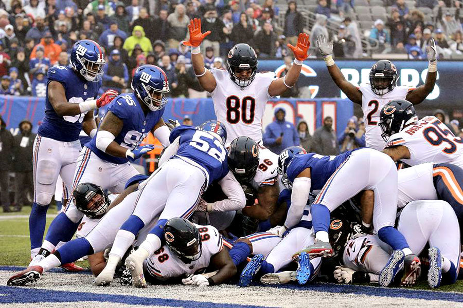 Chicago Bears at New York Giants NFL 2018