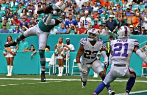 DeVante Parker Dolphins TD vs Bills 2018