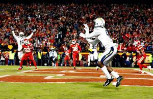Mike Williams Chargers vs Chiefs 2018