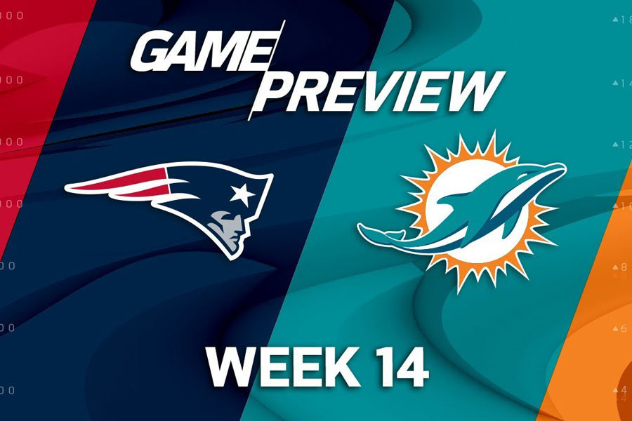 Patriots Dolphins week 14 2018 preview
