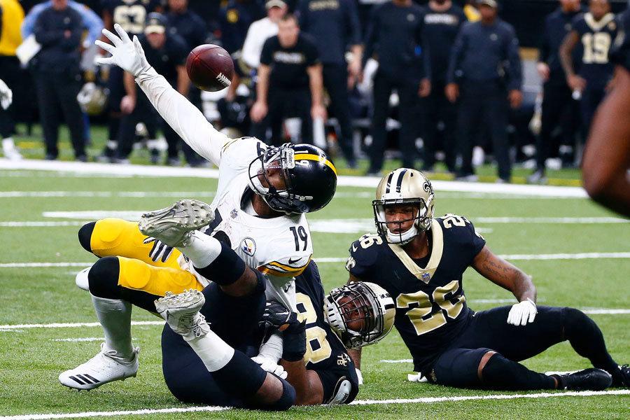 Saints Steelers 2019