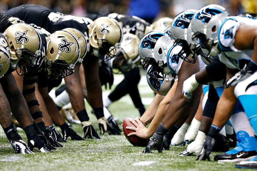 Saints vs Panthers 2018