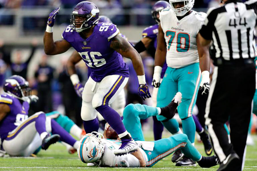 Vikings Dolphins NFL 2018