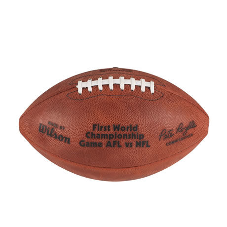 01 pallone Super Bowl I 1967