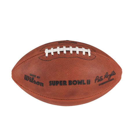 02 pallone Super Bowl II 1968