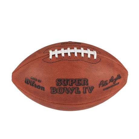 04 pallone Super Bowl IV 1970