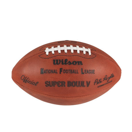 05 pallone Super Bowl V 1971