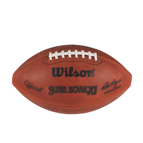 11 pallone Super Bowl XI 1977