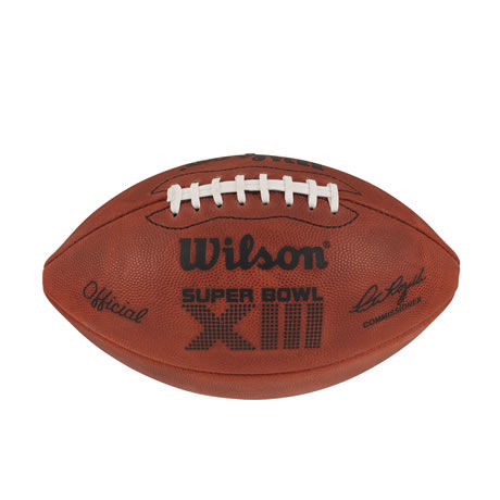 13 pallone Super Bowl XIII 1979