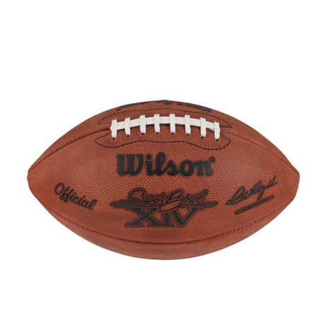 14 pallone Super Bowl XIV 1980