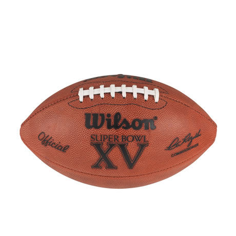 15 pallone Super Bowl XV 1981