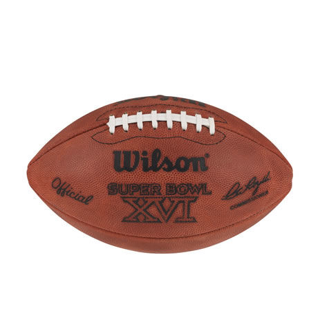 16 pallone Super Bowl XVI 1982