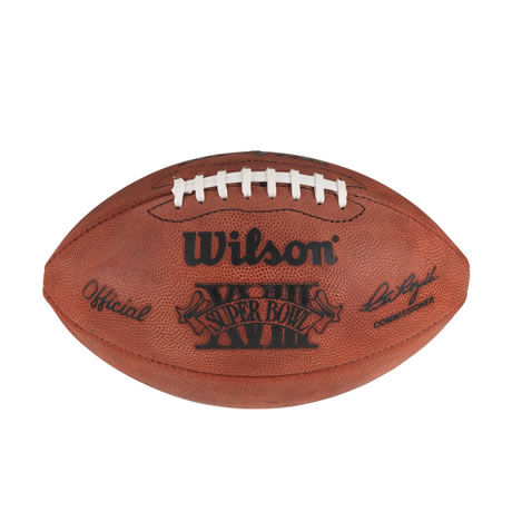 18 pallone Super Bowl XVIII 1984