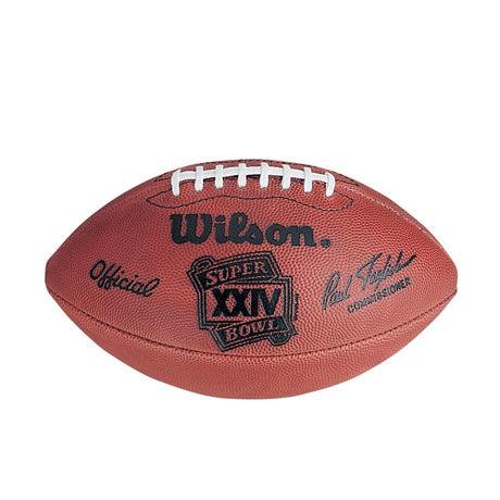 24 pallone Super Bowl XXIV 1990