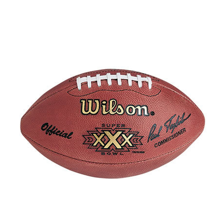 30 pallone Super Bowl XXX 1996