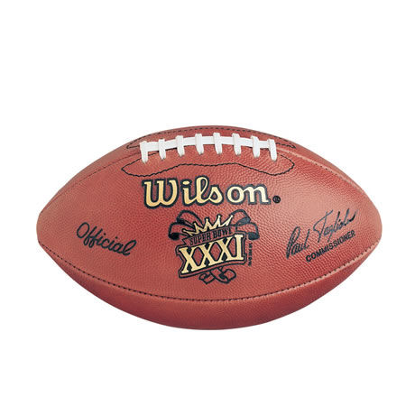 31 pallone Super Bowl XXXI 1997