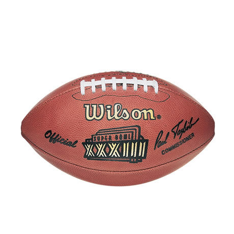 33 pallone Super Bowl XXXIII 1999