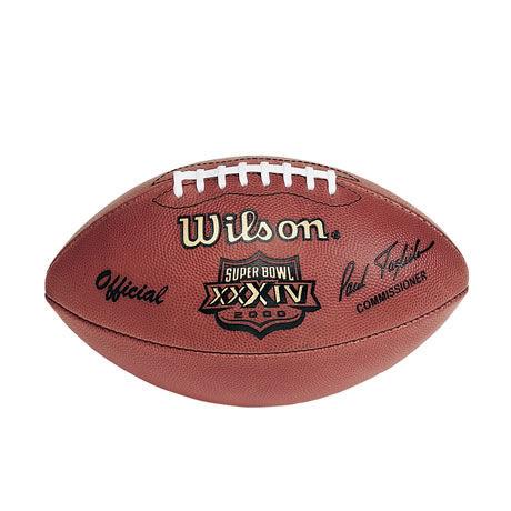 34 pallone Super Bowl XXXIV 2000