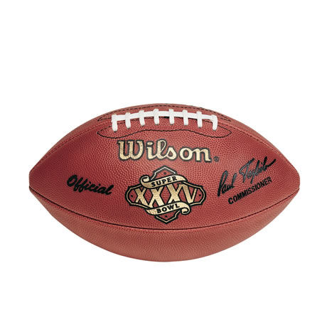 35 pallone Super Bowl XXXV 2001