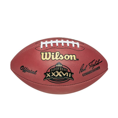 37 pallone Super Bowl XXXVII 2003