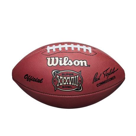 38 pallone Super Bowl XXXVIII 2004