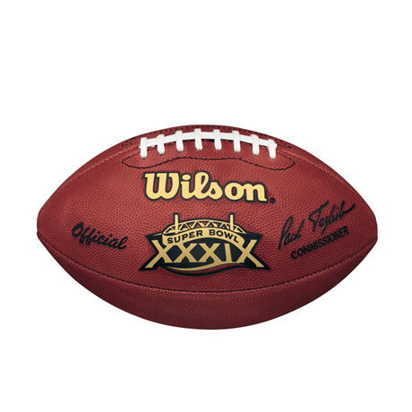 39 pallone Super Bowl XXXIX 2005