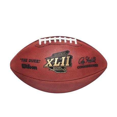 42 pallone Super Bowl XLII 2007
