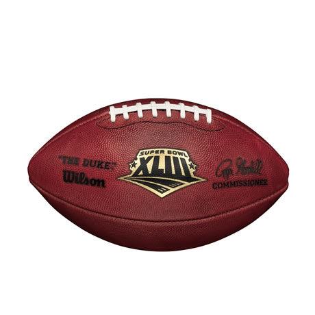 43 pallone Super Bowl XLIII 2008