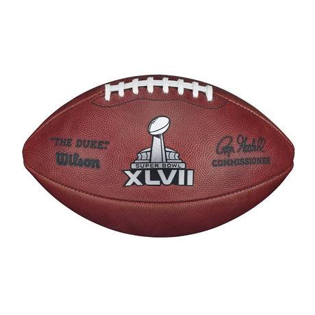 47 pallone Super Bowl XLVII 2012