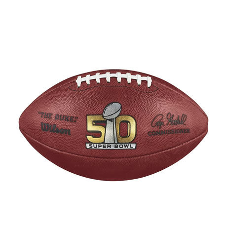 50 pallone Super Bowl 50 2015