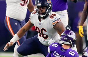 Hicks vs Cousins Bears vs Vikings 2018