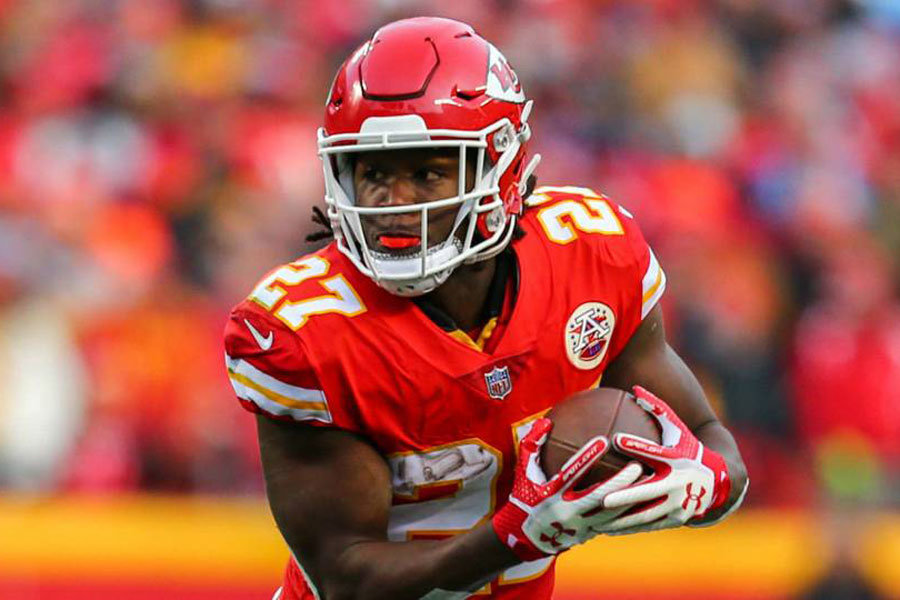 Kareem Hunt Chiefs to Browns