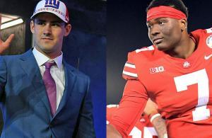 NFL Draft 2019 Daniel Jones Dwayne Haskins