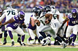 Russell Wilson Seahawks Vikings