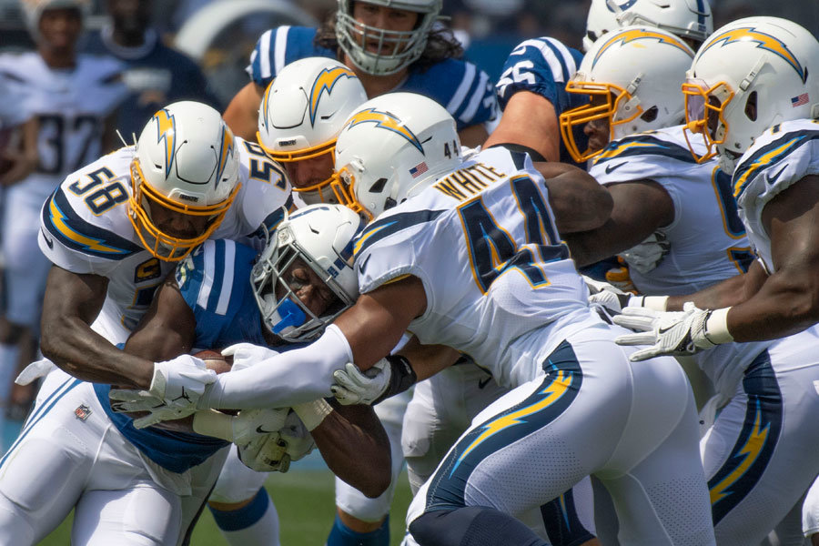 Colts Chargers 2019