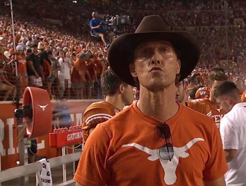 George McConnaughey Texas Longhorns