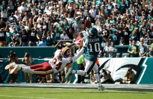 Jackson touchdown Eagles Redskins 2019