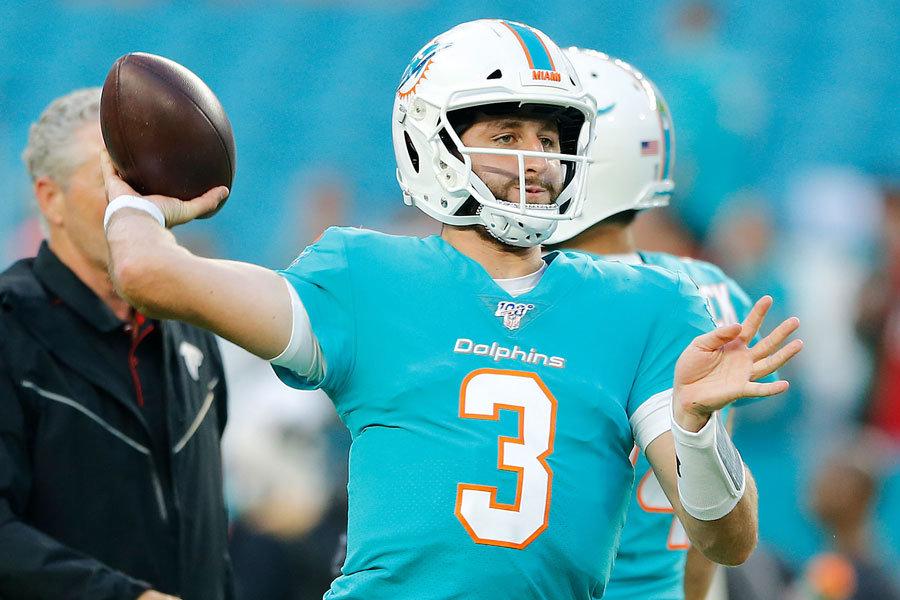 Josh Rosen Miami Dolphins 2019